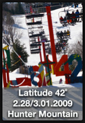 Contest, Hunter Mountain, 42 Degrees Latitiude, Snowboarding
