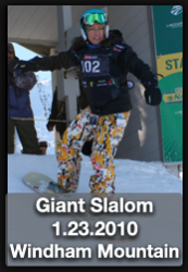 CMS, Snowboarding, Giant Slalom, Windham Mountain