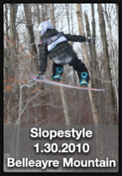 CMS Slopestyle Competion at Belleayre Mountain