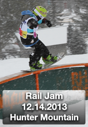 Rail Jam #1 at Hunter Mountain