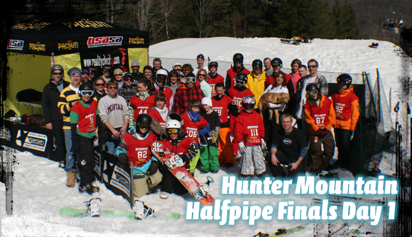 Catskill Mountain Series Halfpipe Finals at Hunter Mountain Day 1